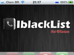Φωτογραφία για iBlacklist: tweak update ένα όπλο για τους ενοχλητικούς