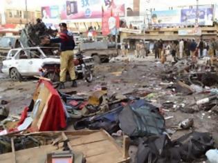 Φωτογραφία για Πακιστάν: Έκρηξη βόμβας με δεκάδες νεκρούς