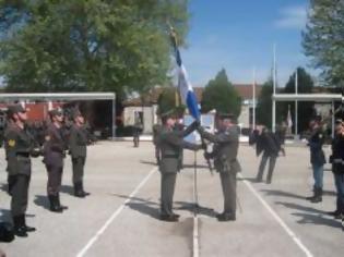 Φωτογραφία για Συγκινητικές στιγμές στην ΣΜΥ Τρικάλων για την επιστροφή της Σημαίας του 5ου Συντάγματος