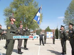 Φωτογραφία για Τελετή Παράδοσης της Πολεμικής Σημαίας του 5ου ΣΠ στη ΣΜΥ και Απονομής σε αυτή των ηθικών αμοιβών