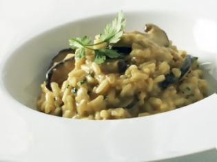 Φωτογραφία για H συνταγή της ημέρας: Νηστίσιμο ριζότο με μανιτάρια