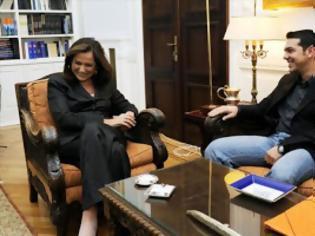 Φωτογραφία για Συμφωνία με τον ΣΥΡΙΖΑ θέλει η Μπακογιάννη