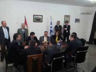 Φωτογραφία για Αποστολή Ελλήνων βουλευτών και επιχειρηματιών στο Κουρδιστάν