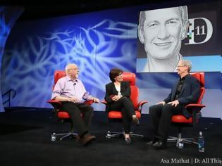Φωτογραφία για Όλη η τηλεοπτική συνέντευξη του Tim Cook
