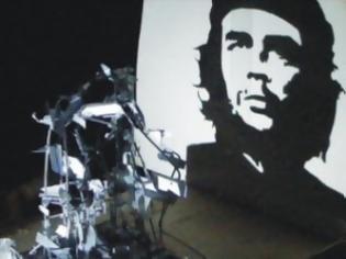 Φωτογραφία για Το απίστευτο γλυπτό shadow art με τη μορφή του Che Guevara από τον ξανθιώτη Τριαντάφυλλο Βαΐτση! [video]