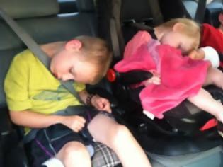 Φωτογραφία για Συμβουλές για την ασφαλή μεταφορά των παιδιών στις διακοπές