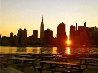 Φωτογραφία για Μανχάτανχετζ: Το ιδανικότερο… ηλιοβασίλεμα του κόσμου!