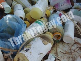 Φωτογραφία για Επικίνδυνα απόβλητα σε κοινή θέα στον κάμπο της Ξάνθης