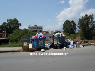 Φωτογραφία για Πρόβλημα με τα σκουπίδια στα Τρίκαλα