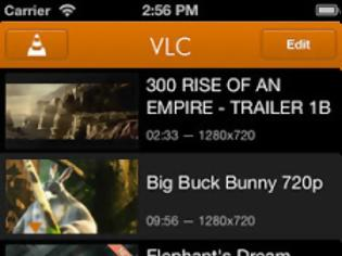Φωτογραφία για VLC for iOS: AppStore free...ο δημοφιλής player είναι ξανά διαθέσιμος