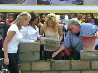 Φωτογραφία για Δείτε το σχολείο που χτίζει η Shakira για τα φτωχά παιδιά της Κολομβίας
