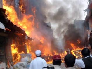 Φωτογραφία για Τέσσερις νεκροί και επτά τραυματίες από εκρήξεις βομβών στο Πακιστάν