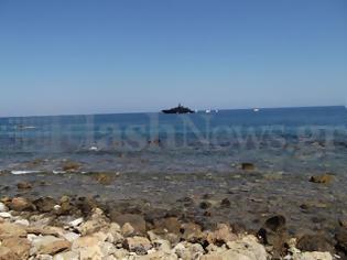 Φωτογραφία για Ο Αρμάνι στα Χανιά με την πολυτελή θαλαμηγό του - Βίντεο από το λιμάνι των Χανίων