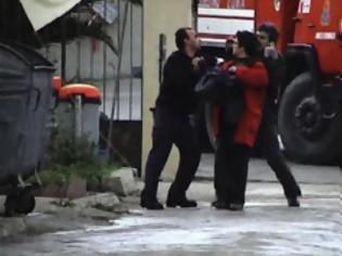 Φωτογραφία για Όλοι στα... μαλακά για τον βαρύτατο τραυματισμό της δημοσιογράφου Aγγελικής Χατζηδημητρίου