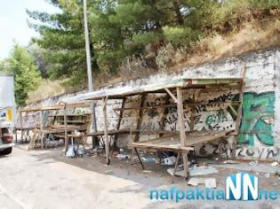 Φωτογραφία για Περιθώρι: Μετά το τροχαίο τους έκλεισαν τις παράγκες - Περίπου ένα μήνα χωρίς δουλειά οι παραγωγοί