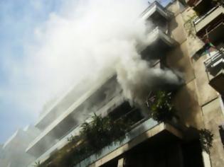 Φωτογραφία για Φωτιά σε διαμέρισμα στο Ρέθυμνο - Στο νοσοκομείο ο ένοικος