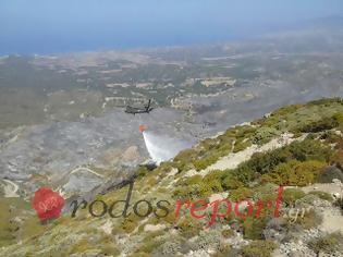 Φωτογραφία για Έκτακτο: Μηχανική βλάβη σε ελικόπτερο σινούκ στη φωτιά στη Νότια Ρόδο