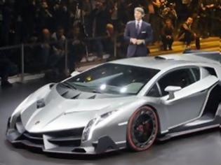 Φωτογραφία για Σκέψεις για roadster έκδοση της Lamborghini Veneno