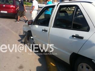Φωτογραφία για Χαλκίδα: Η μητέρα βγήκε από το τρακαρισμένο αυτοκίνητο αγκαλιά με τα δύο της τραυματισμένα παιδιά!