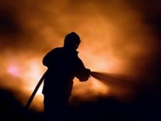Φωτογραφία για Κάηκε άντρας σε διπλοκατοικία