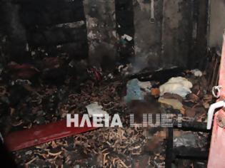 Φωτογραφία για Ανδραβίδα: Απανθρακώθηκε 64χρονος μέσα στο σπίτι του