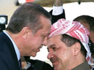 Φωτογραφία για Συνάντηση Ερντογάν - Μπαρζανί για το Κουρδικό