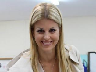 Φωτογραφία για Η Έλενα Ράπτη μετά τη συνάντηση με τον πρόεδρο της HELEXPO