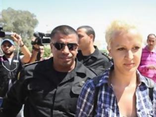 Φωτογραφία για Ελεύθερη αφέθηκε ακτιβίστρια της Femen στην Τυνησία