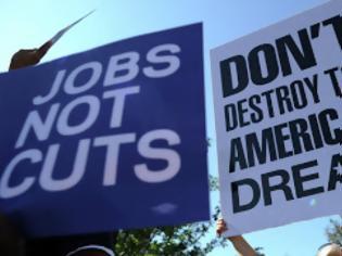 """Φωτογραφία για """"Μάζεψε"""" η ανεργία στις ΗΠΑ, από το 7,6% στο 7,4%"""