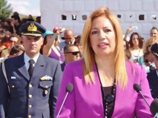 Φωτογραφία για Αποδοκιμάστηκε η Φώφη Γεννηματά στην Τρίπολη