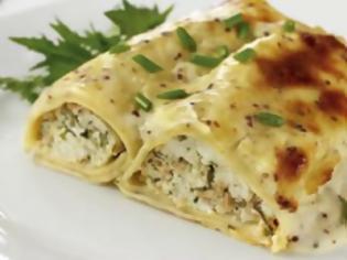 Φωτογραφία για H συνταγή της ημέρας: Κανελόνια με τόνο και μείγμα τυριών