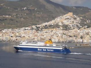 Φωτογραφία για Κάθε Σάββατο το Blue Star Patmos θα συμπεριλαμβάνει στο δρομολόγιο του και το λιμάνι της Ερμούπολης