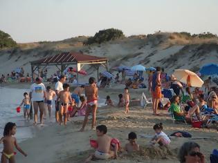 Φωτογραφία για Βούλιαξαν οι παραλίες της Ξάνθης! Χτύπησε κόκκινο ο υδράργυρος
