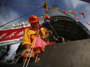 Φωτογραφία για Σαγκάη: Προχωρά η ανέγερση του δεύτερου υψηλότερου κτηρίου στον κόσμο