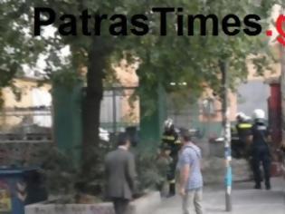 Φωτογραφία για Πάτρα:Αντιεξουσιαστές έξω από την ΕΛ.ΑΣ