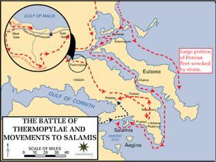 Φωτογραφία για Σαν σήμερα το 480 π.Χ: Στα Στενά των Θερμοπυλών....