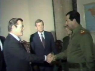 Φωτογραφία για Πώς η CIA ώθησε τον Saddam Ηussein σε χρήση χημικών όπλων κατά του Ιράν