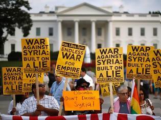 Φωτογραφία για Όχι Βρετανίας σε στρατιωτική επέμβαση κατά της Συρίας, αποφασισμένη για δράση η Ουάσιγκτον
