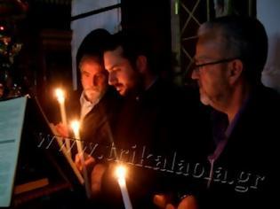 Φωτογραφία για Η Ακολουθία των Παθών στον Ι.Ν. Αγ. Μαρίνης Τρικάλων [video]