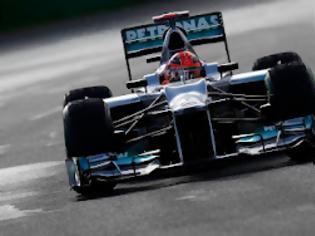 Φωτογραφία για Schumacher: «Ικανοποιημένος από την W03»