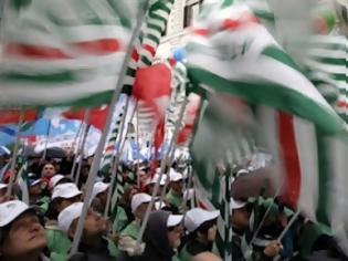 Φωτογραφία για Στους δρόμους οι Ιταλοί
