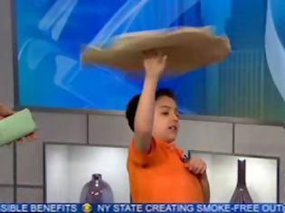 Φωτογραφία για Εφτάχρονος με ταλέντο στη... ζύμη τρελαίνει το YouTube! Δείτε τις εξαιρετικές ικανότητες του Michael! [φωτο + video]