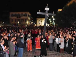 Φωτογραφία για Ναύπλιο συνάντηση επιταφίων στην πλατεία Συντάγματος