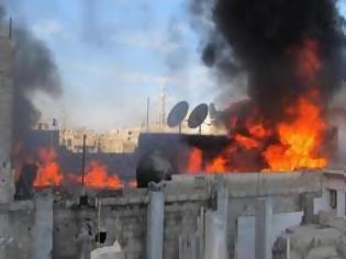 Φωτογραφία για Συρία: Βομβαρδίζονται συνοικίες της Χομς