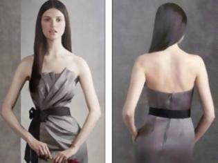 Φωτογραφία για Γκάφα με Photoshop σε μοντέλο του οίκου μόδας της Vera Wang