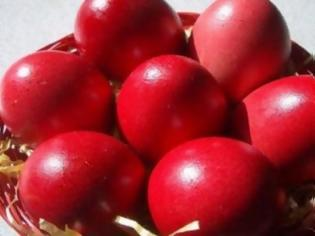 Φωτογραφία για Το έθιμο των κόκκινων αυγών