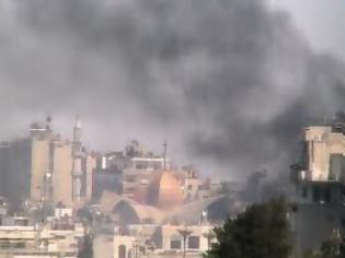 Φωτογραφία για Συρία: Βομβαρδισμοί δύο συνοικιών της Χομς