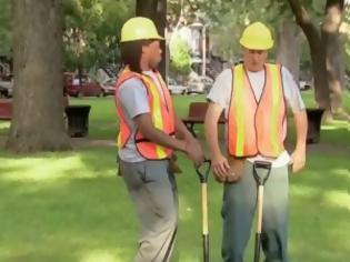 Φωτογραφία για VIDEO: Φάρσα με... υπάλληλους του δήμου!