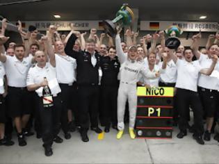 Φωτογραφία για GP Κίνας - Mercedes Report: Από τον θρυλικό Fangio στην 1η του Rosberg
