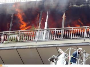 Φωτογραφία για Πυρκαγιά με μία νεκρή στη Κυψέλη της Αθήνας